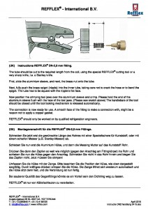 Instructions DN-2.0 mm crimping fitting