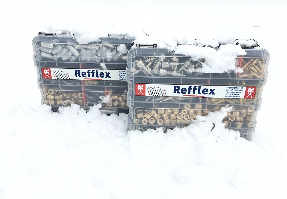 Refflex organizers for fittings and tools 2019